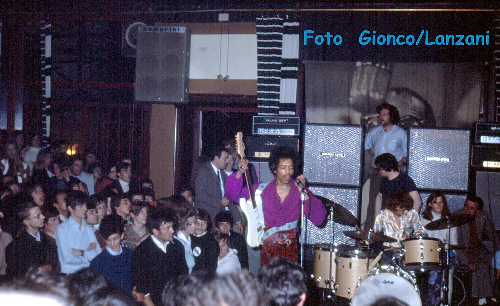 Milan (Piper Club) : 23 mai 1968  45770419680523piper