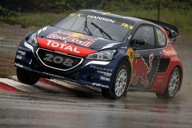 Les PEUGEOT 208 WRX enflamment la Suède - 2ème et 3ème en World RX et victoire en EURO RX 457843wrx201607020069