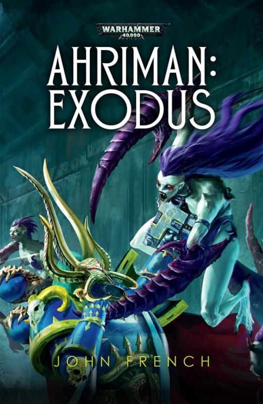 Ahriman: Exodus de John French 458908AhrimanExodusCover