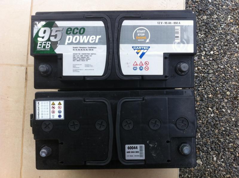 Etat batterie après une non utilisation pendant 6 semaines - Page 2 459419IMG3041