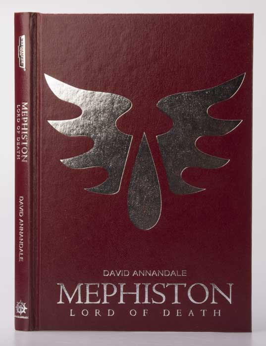 Mephiston, Lord of Death by David Annandale - Page 2 460373mephistonbook