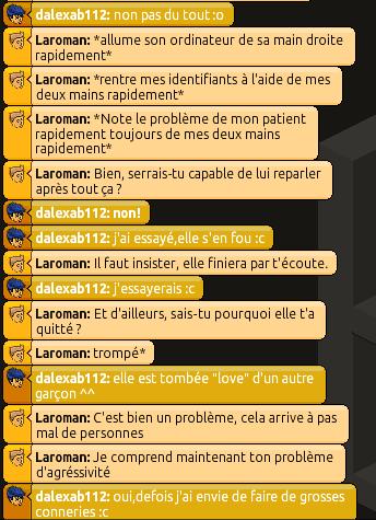 Rapports d'Action RP de Laroman 461087RP32