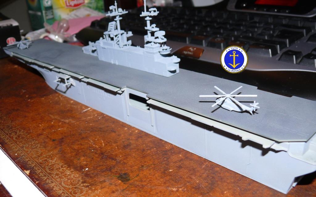 USS KEARSARGE LHD-3 1/700 REVELL 462522Kearsarge3