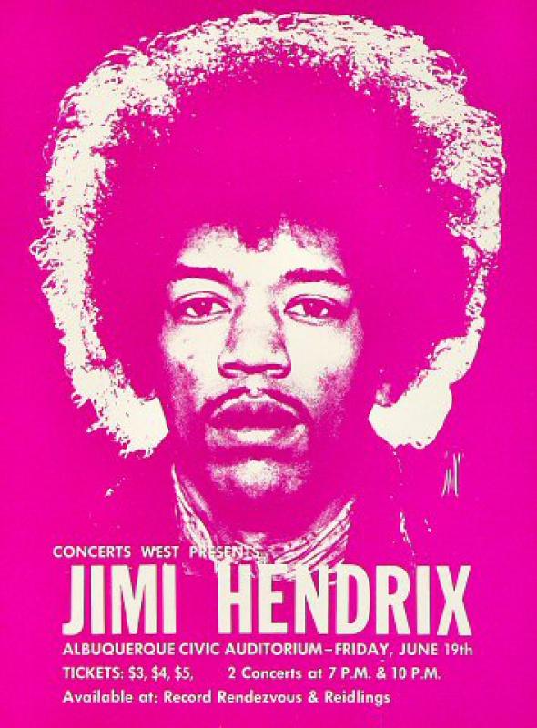 Albuquerque (Civic Auditorium) : 19 juin 1970  462993CAA700619HB