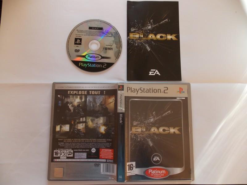 Black 467140Playstation2Blackplat