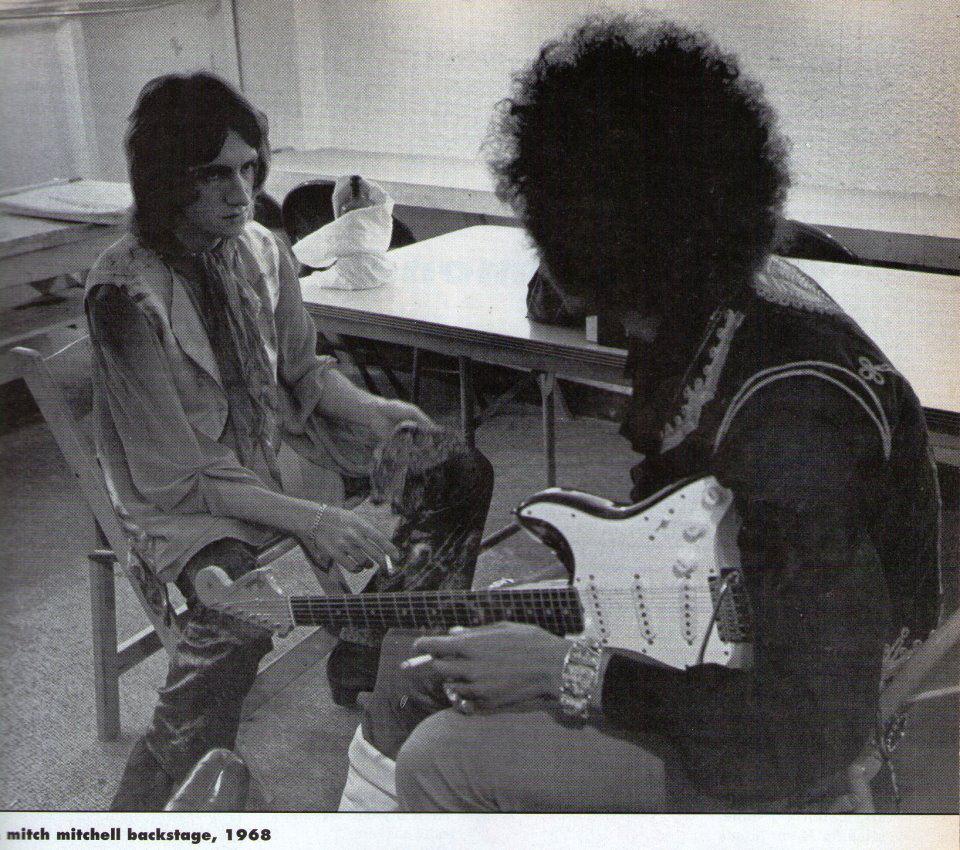 San Francisco (Winterland) : 11 octobre 1968 [Premier concert] 468467backstagewinterland