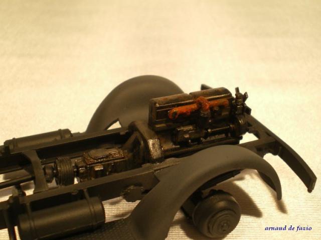 tracteur d artillerie soviétique chtz s-65 version allemande 1/35 trumpeter,tirant 2 blitz de la boue - Page 2 469006IMGP2308