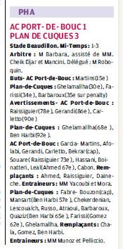 ATHLETIC CLUB  PORT DE BOUC ET SC PORT DE BOUC  / PHA PROVENCE  - Page 9 47174112a