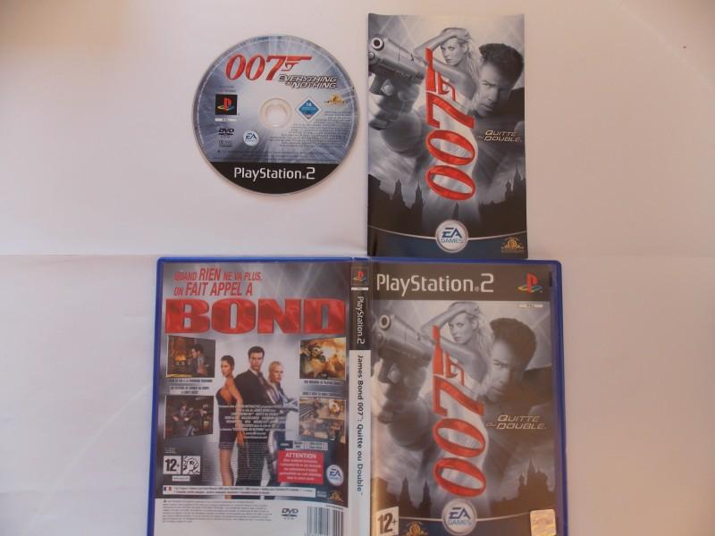 James Bond 007 : Quitte ou double 472920Playstation2JamesBond007Quitteoudouble