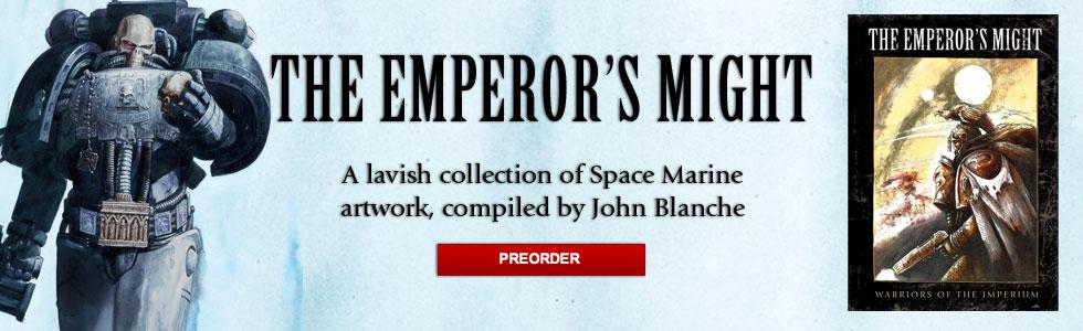 La Puissance de l'Empereur / The Emperor's Might [Artbook] 474485emperorsmightannonce