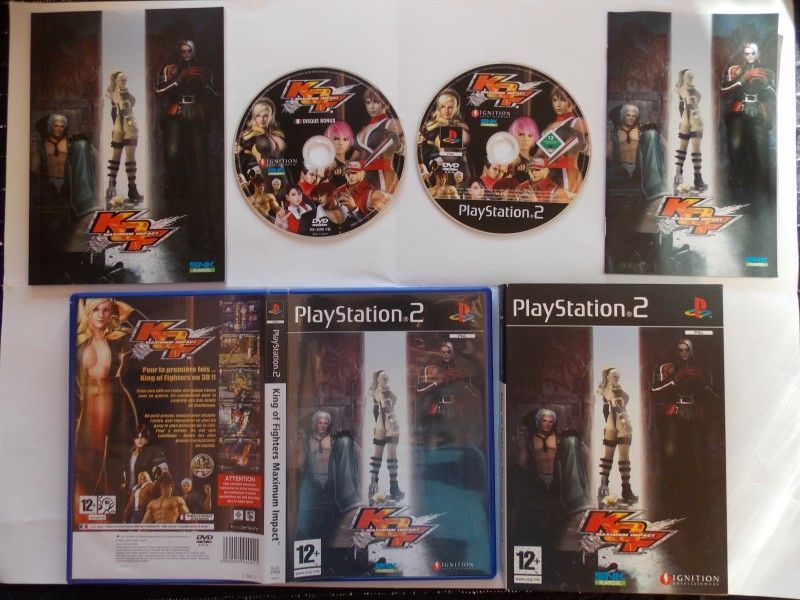 King of Fighters Maximum Impact 475190Playstation2Kingsoffightersmaximumimpactcollector