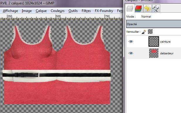 [Débutant] Créez vos vêtements - Partie III - The Gimp 475318photo45
