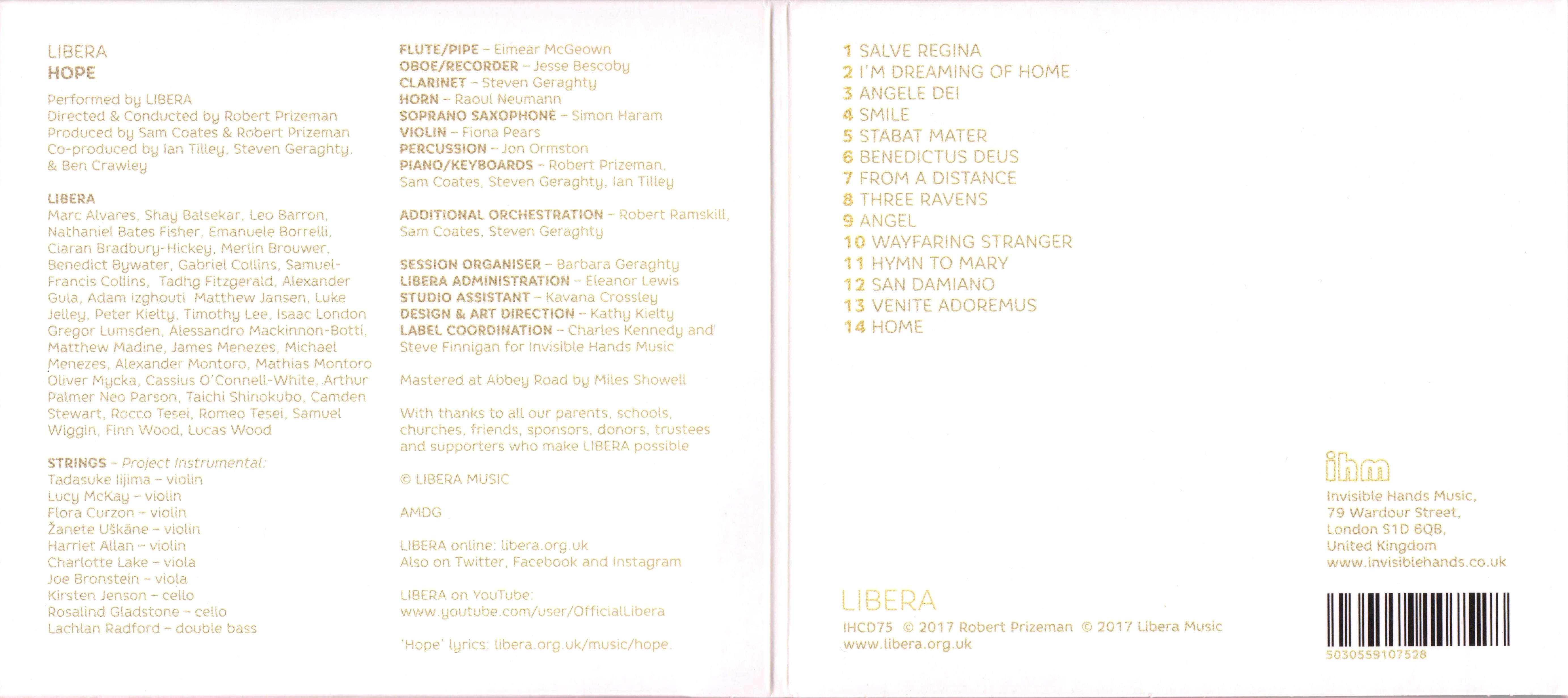 La discographie Libera - Page 2 475677Doslarge