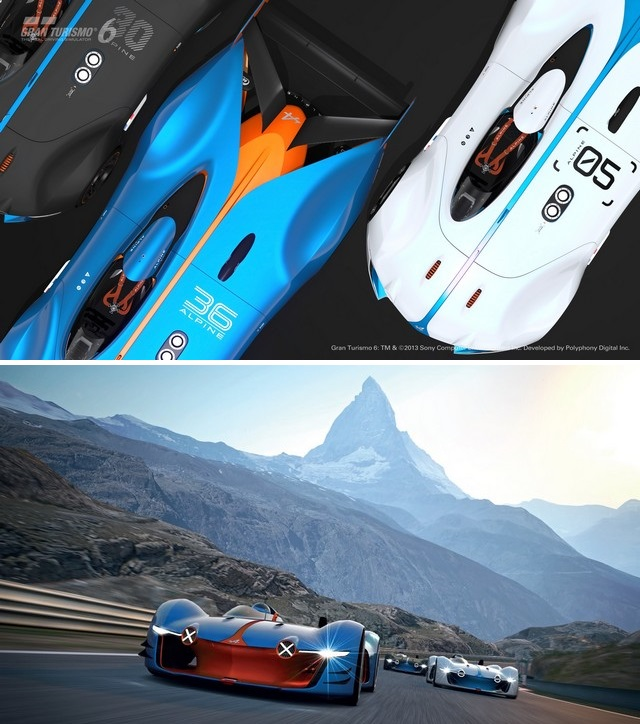Le film « Alpine Vision Gran Turismo – Inspirations » 47570865290161