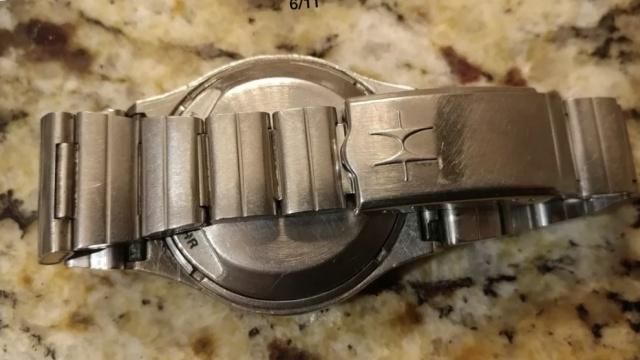 Hamilton QED 1 vintage LED watch 1973 476730B381EEBE7DCF429C9E687955C7E4FD15