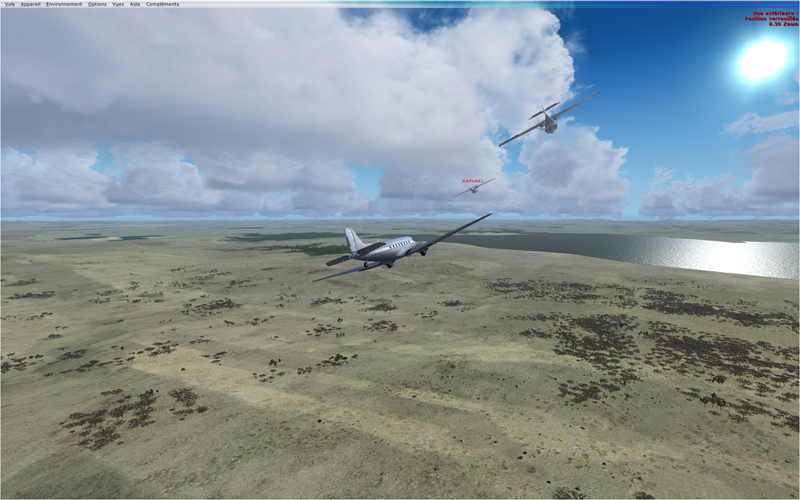 Vol en formation en Afrique (DC3) 477037201322221203914
