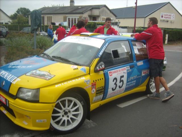 31è Rallye Tessy sur Vire Gouvets 2012 (vérifications techniques)  478870Sep01823