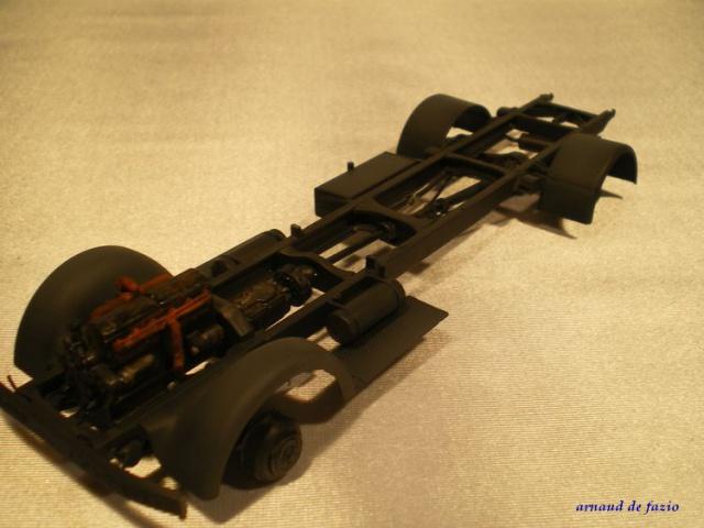 tracteur d artillerie soviétique chtz s-65 version allemande 1/35 trumpeter,tirant 2 blitz de la boue - Page 2 478919IMGP2310