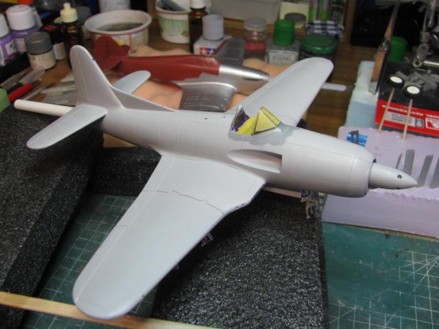Ryan XF2R-1 Dark Shark Czech Model 1/48.....Terminé! - Page 3 480653IMG1086