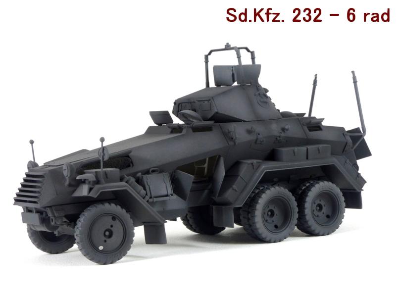 Sd.Kfz. 232 6 Rad - France 1940 - Italeri 1/35 480912P1030986