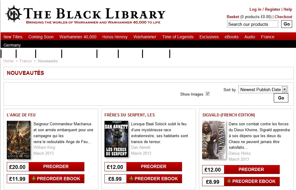 Sorties Black Library France Mars 2013 483073Mars2013