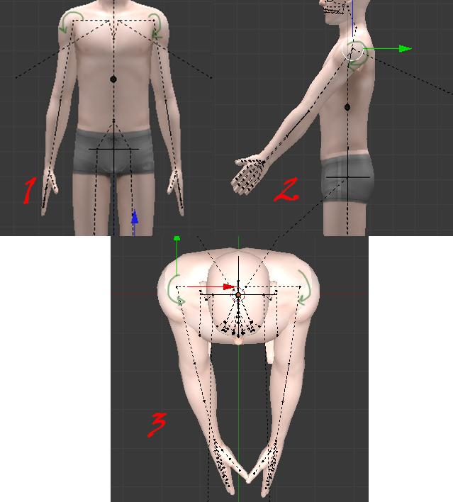 [Fiche] [Blender 2.6 et 2.7] Réaliser de belles poses avec Blender 4842025119