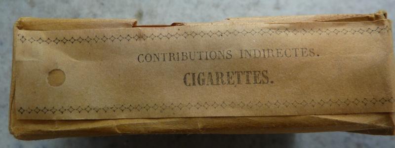 Paquet de cigarettes troupe variante inconnue 485242P1010923