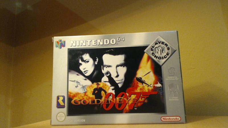 [VENDU Console NINTENDO 64 + GOLDENEYE ( tout est near mint ) 486602Picture184