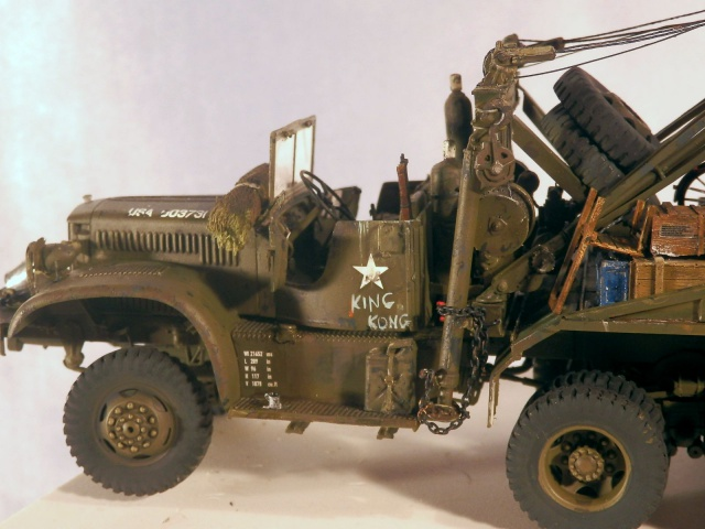 US Diamond T969A wrecker (Mirror Models 1/35) - Page 3 487934P1260081
