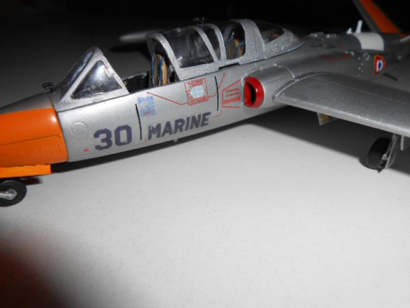 Fouga Magister 1/48 Kinetic lionel 45 - Page 2 488477Fougafini010