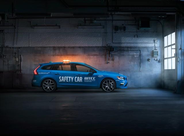 Volvo V60 Polestar : La Voiture De Sécurité La Plus Sure De L'histoire Du WTCC 490378188872VolvoV60PolestarSafetyCar