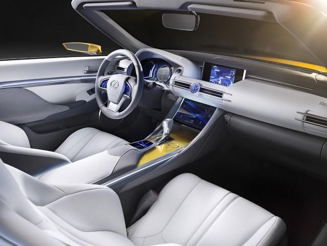Le Concept Lexus LF-C2 Brille Sous Les Projecteurs Du Salon De Los Angeles 491566LFC2iInteriorlow