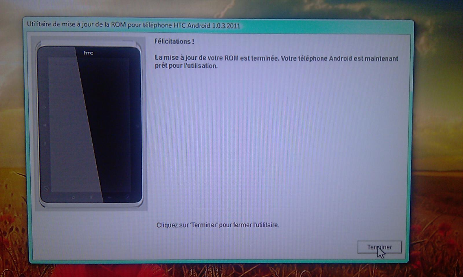 [Tuto] Downgrade vers GB, passage en S.Off, installation Leedroid GB 2.2.0 (en images) 493486DowngradeHC8