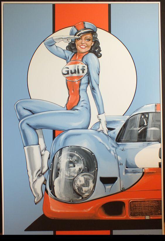 le sport auto  et l'art - Page 34 493984Gulf