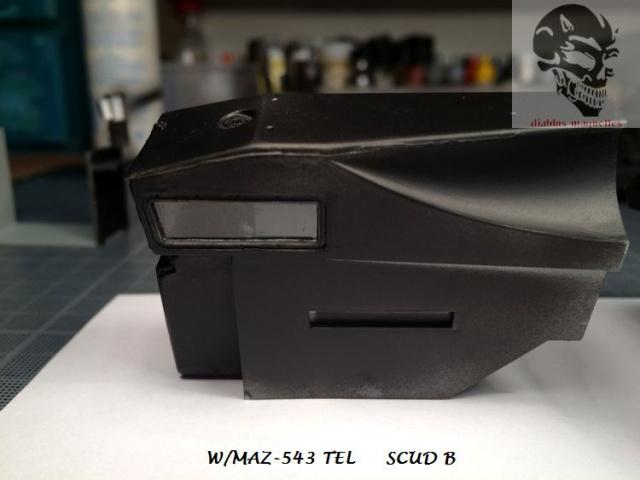 W/MAZ -543 TEL  SCUDB  maquette dragon 1/35 493993IMG4320