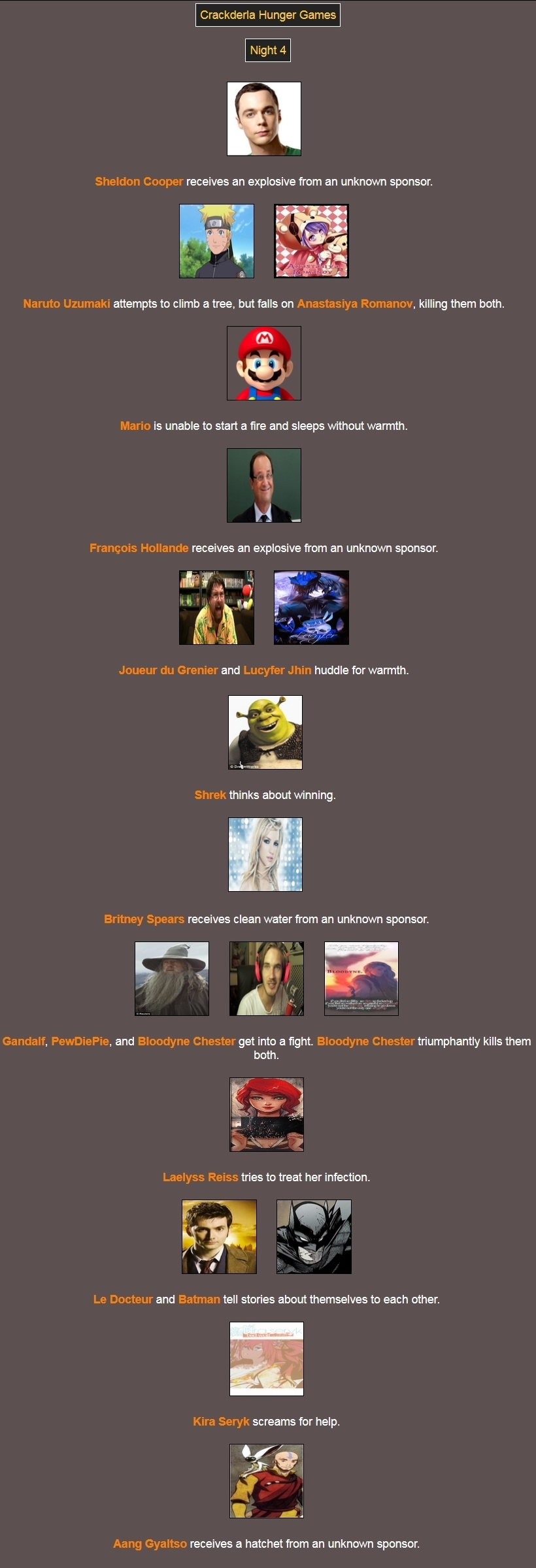 [Crackderla N°1] Hunger Games - Page 7 494253Night4