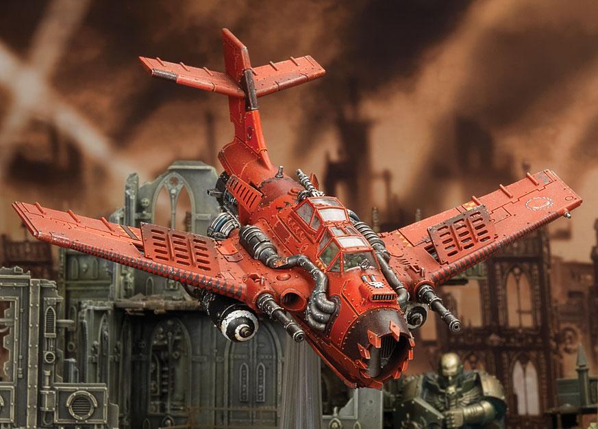 Assaut aérien - de nouveaux aéronefs pour W40K 494333dakka1