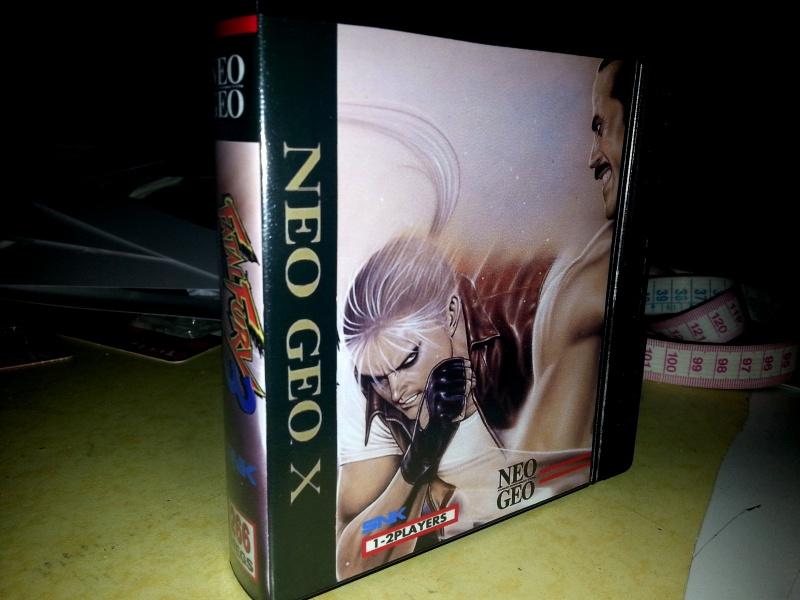 Insert neo geo x pour boites neogeo pocket 49743120130129234426