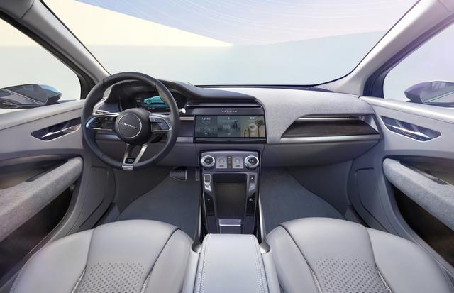 Jaguar Dévoile Le Concept I-PACE : Le SUV Électrique Performant 497516JaguarConceptIPACE2