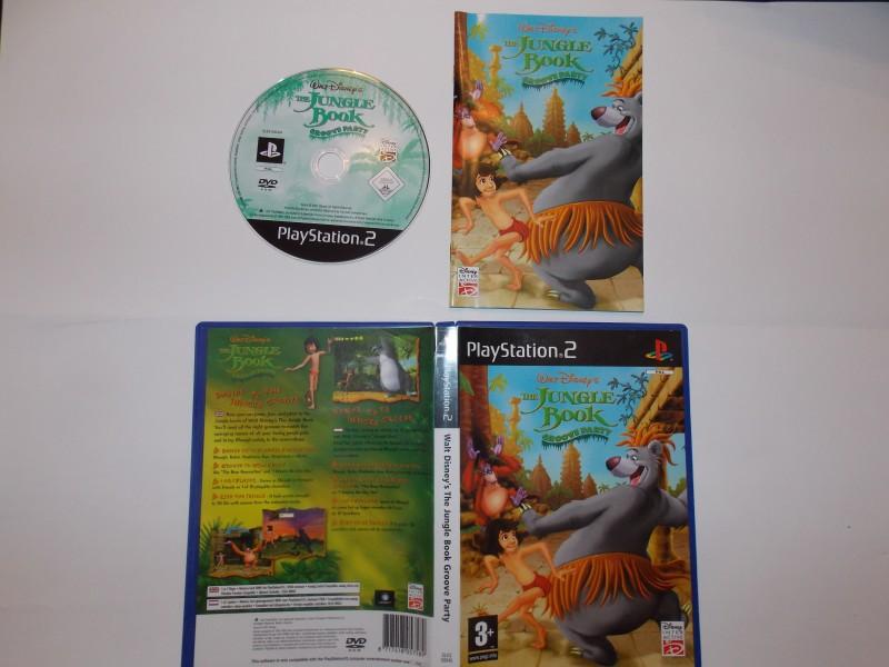 Walt Disney - Le Livre de la Jungle, Groove Party 497714Playstation2LeLivredelaJungleGrooveParty
