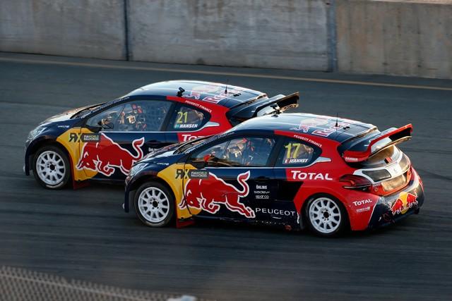 Rallycross : La PEUGEOT 208 WRX et le Team Peugeot Hansen triomphent au Canada ! 49784655c5ae7138e9d