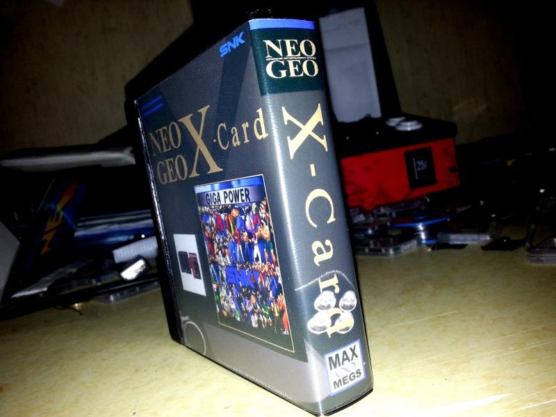 Insert neo geo x pour boites neogeo pocket 49814020130323221853
