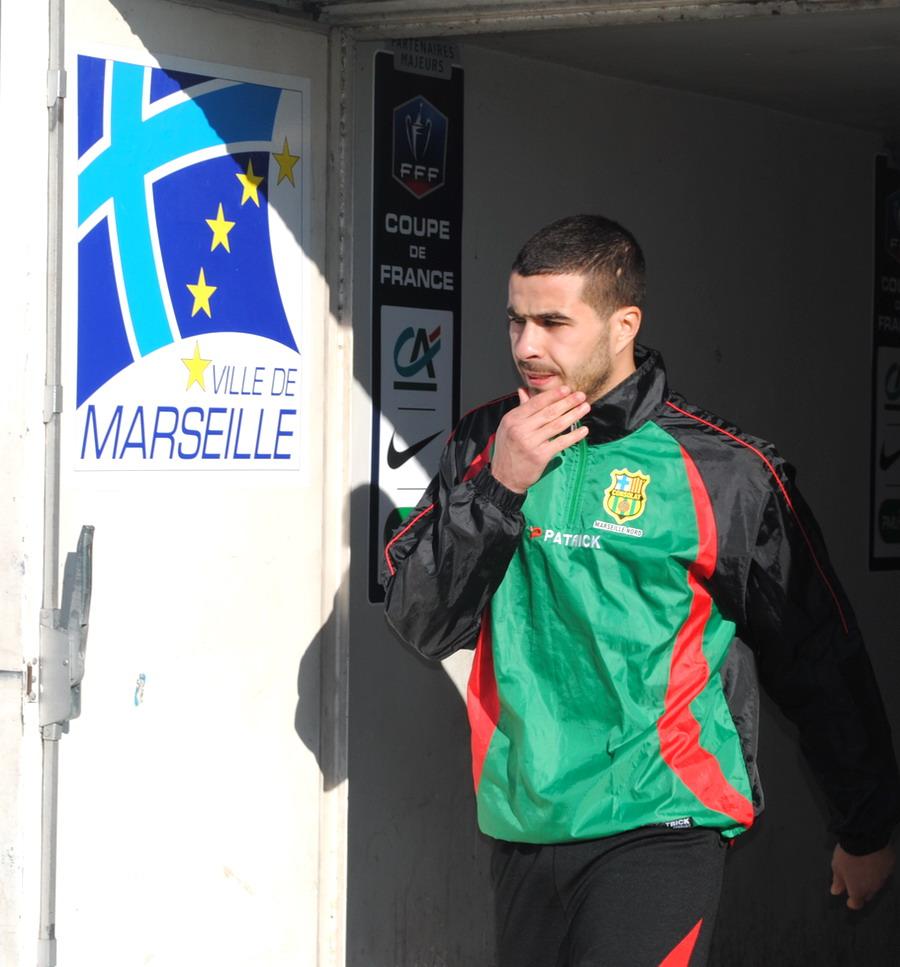 MARSEILLE CONSOLAT/ MOULINS COUPE DE FRANCE 2013 POUR 1 MINUTE GROSSE DESILLUSION  498172DSC0224