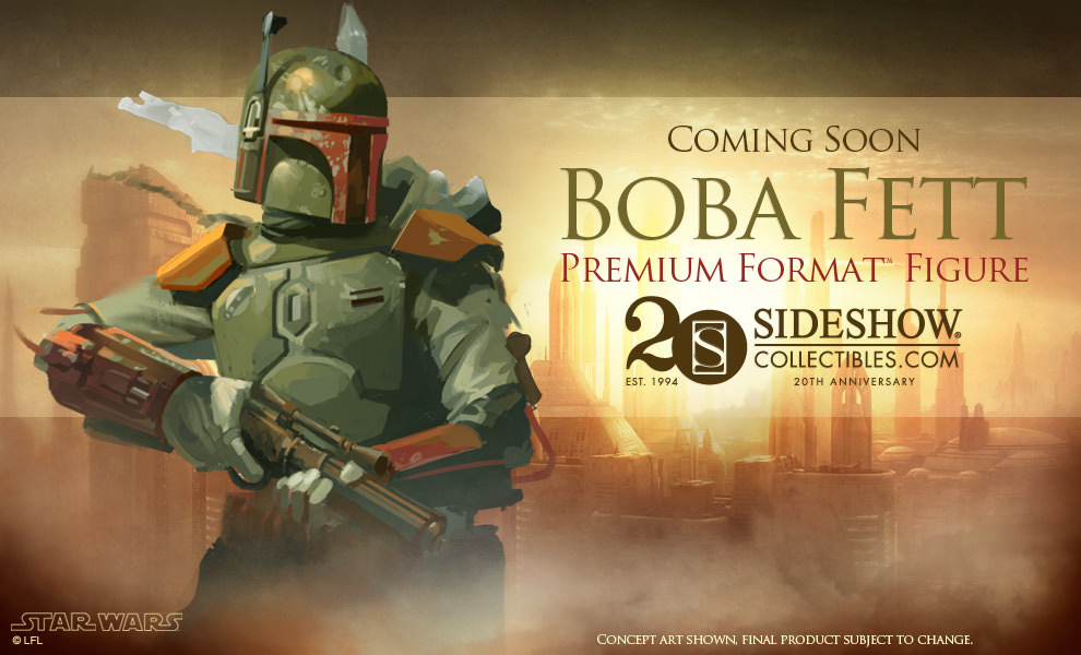 Sideshow - Boba Fett Premium Format Figure 498647previewBobav02