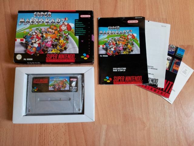 Prupru's Collection ! 100% Super Nintendo et 200% Super Comboy !! - Page 2 499191SuperMarioKartFRG