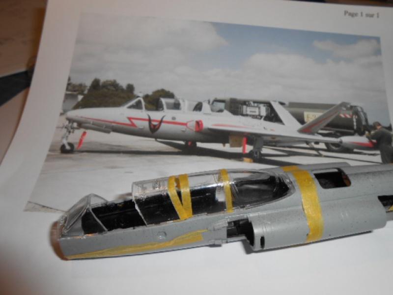Fouga Magister 1/48 Kinetic lionel 45 499513f004