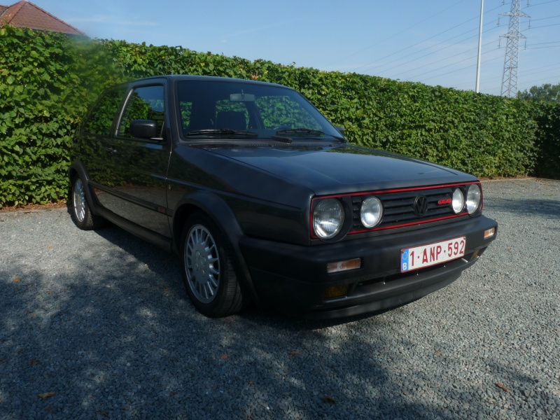 Présentation Golf 2 G60 from Belgium 499713P1070368