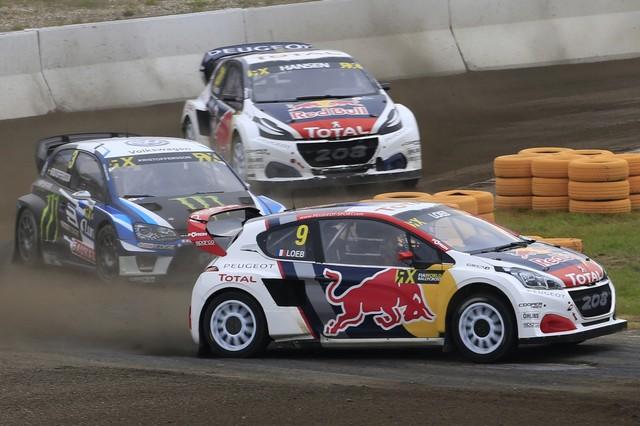 Rallycross - Les PEUGEOT 208 WRX dans le match, Timmy Hansen sur le podium à Hockenheim 501221590e1408e11c9