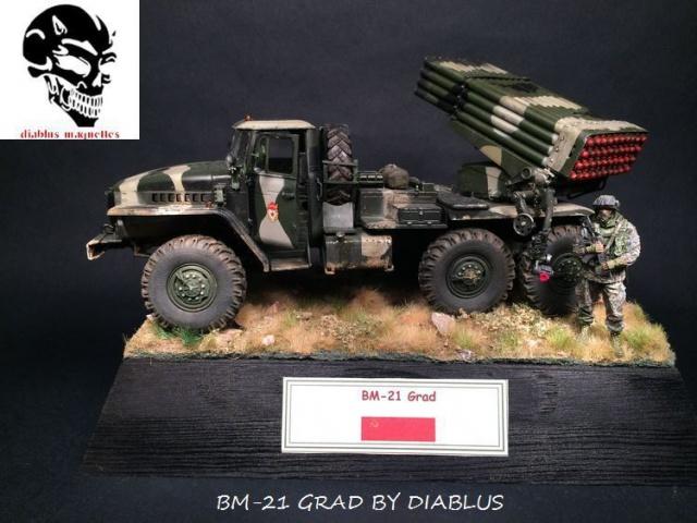 BM-21 Grad - Trumpeter 1/35 501943IMG35851