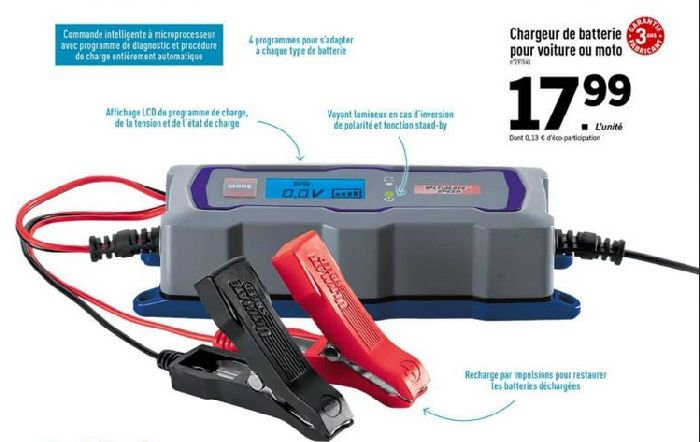 Slim2017 et chargeur de batterie - Page 2 502461ChargeurLidl